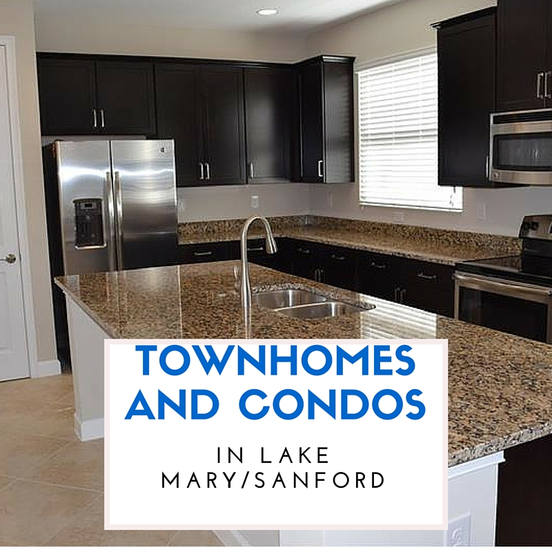 7 Townhomes And Condos In Lake Mary/Sanford